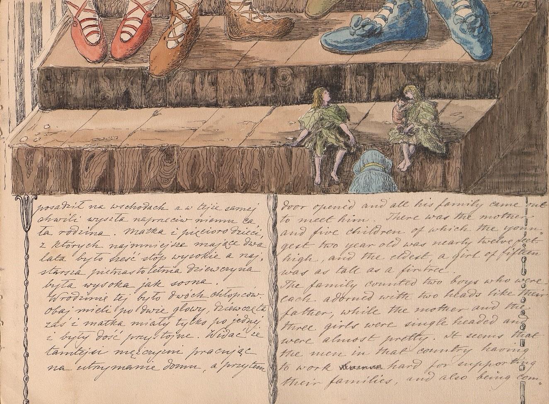 Helena Modjeska's Titi, Nunu, and Klembolo