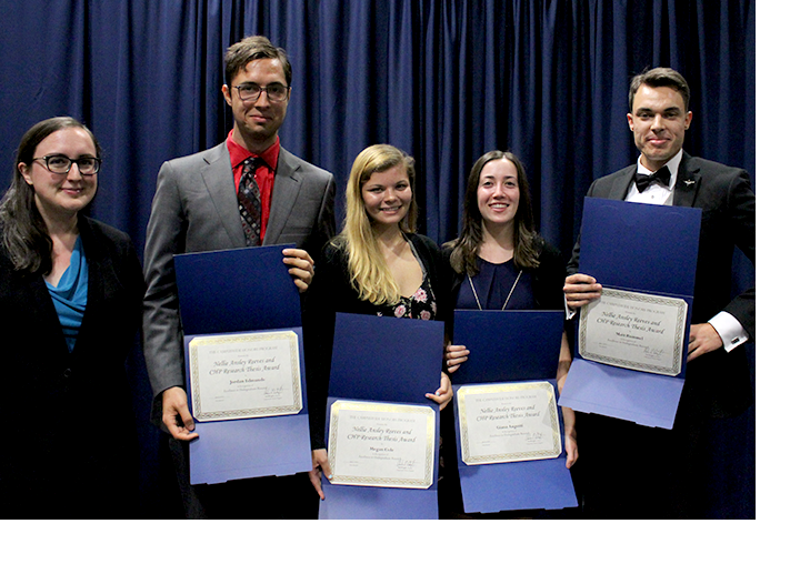 CHP Thesis Awardees