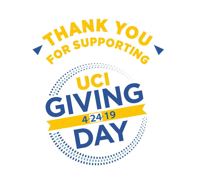 Thank you for supporting UCI Libraries!