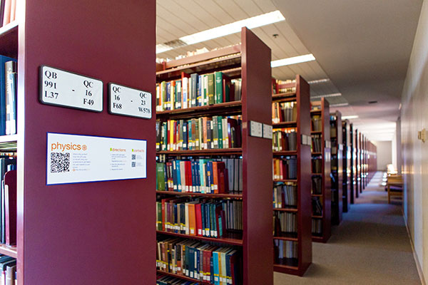 Uci Science Library Book Room