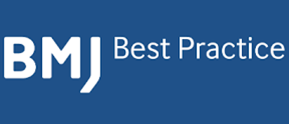 Blue BMJ Best Practices logo