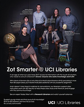 Zot Smarter-Research Librarians