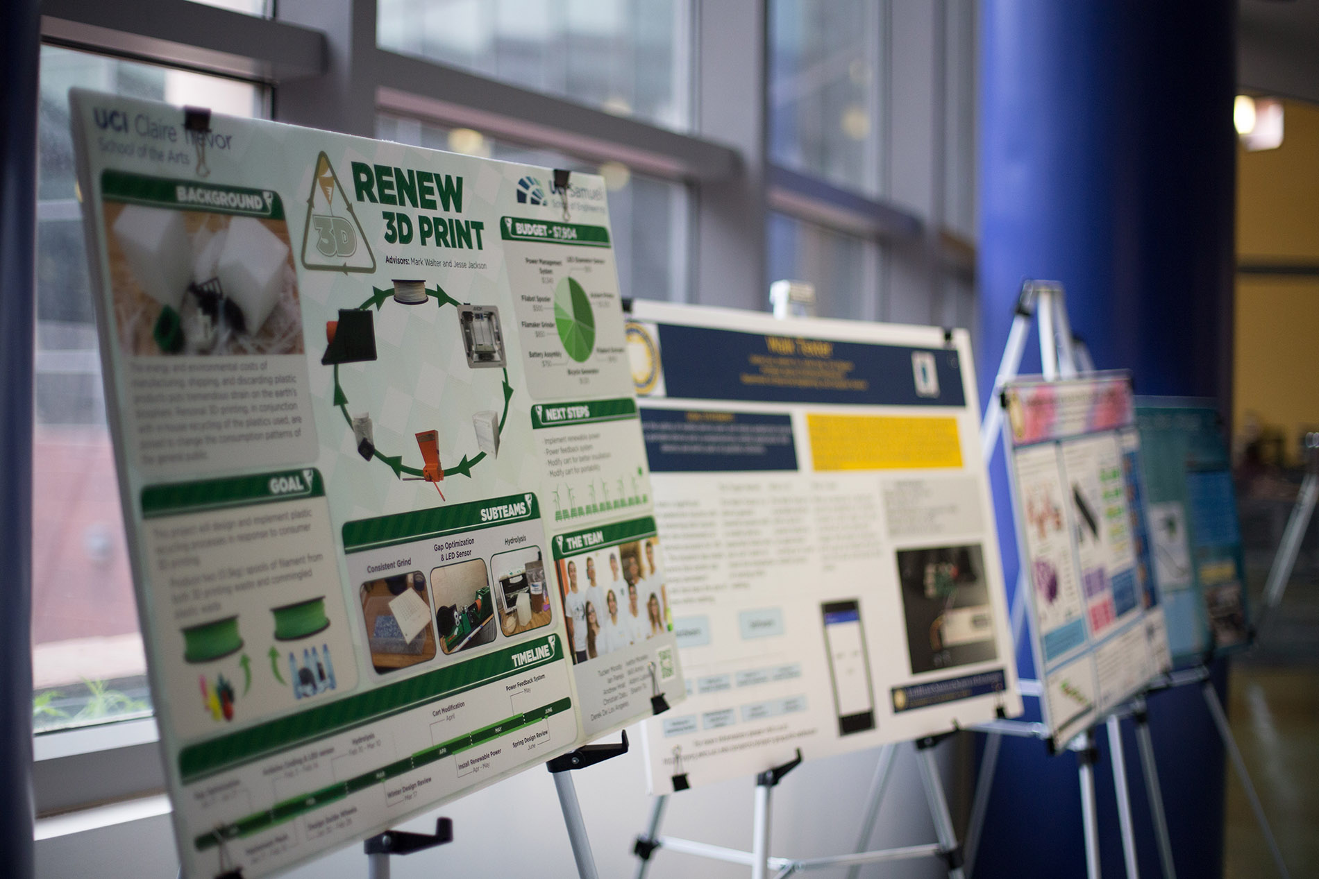 dean s choice awards for engineering senior design posters 2017 uc