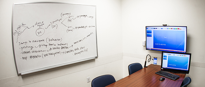 Langson Library Reserve Study Room