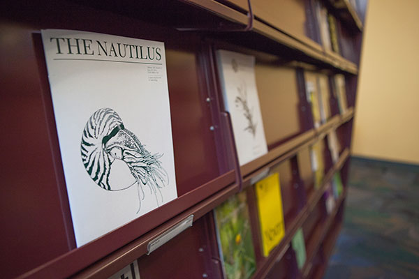 Periodicals on the shelf