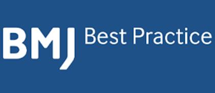 Blue BMJ Best Practices logo