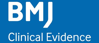 Blue BMJ Clinical Evidence